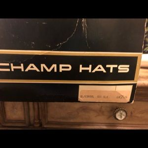 Champs vintage men's hats